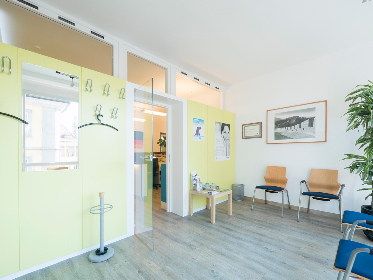 Zahnarzt-Praxis in der Innenstadt von Würzburg